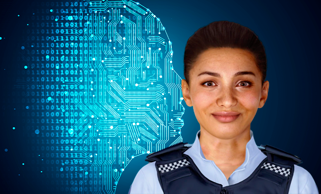 Ella, New Zealand's first AI-powered police officer